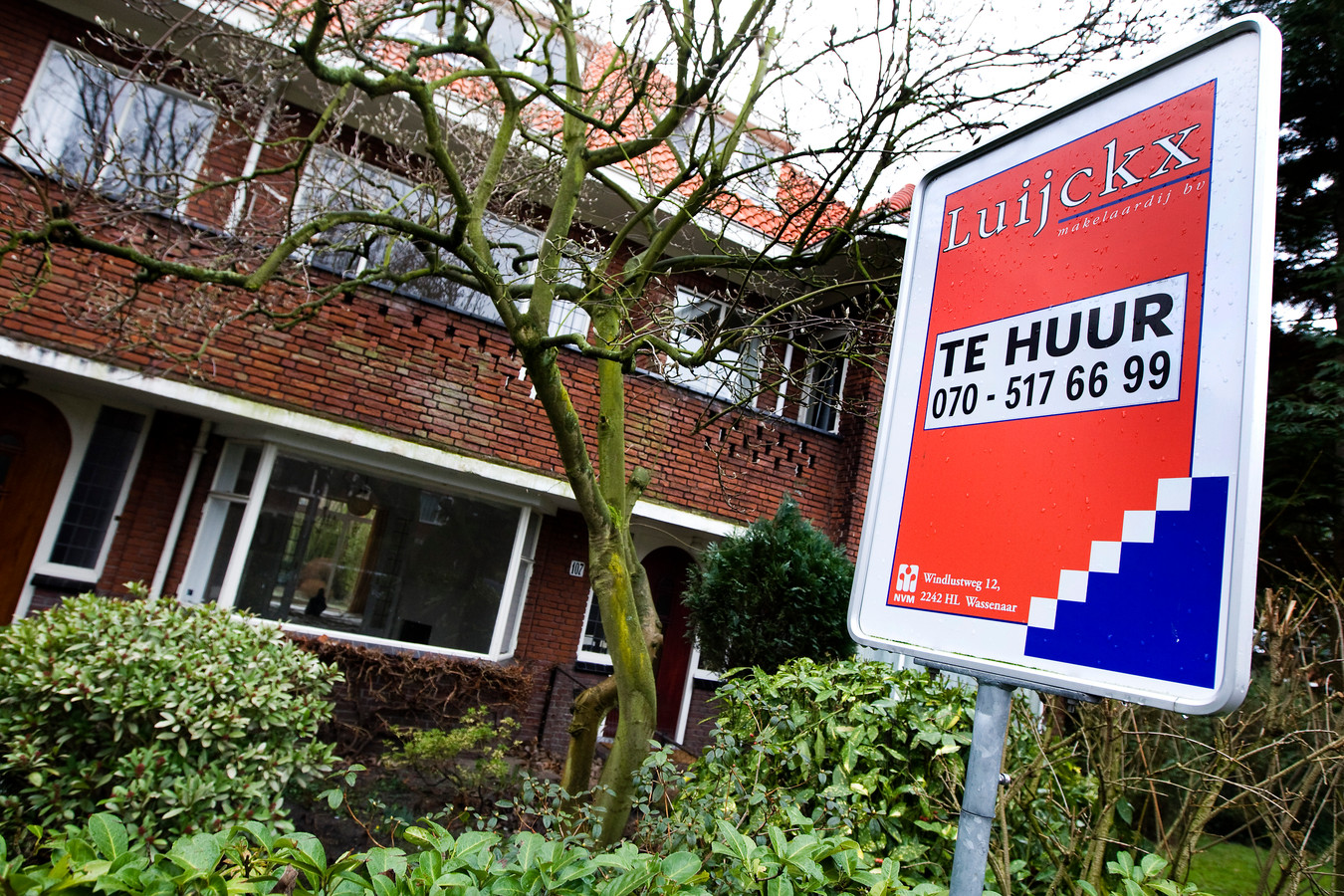Een huis staat te huur in Wassenaar