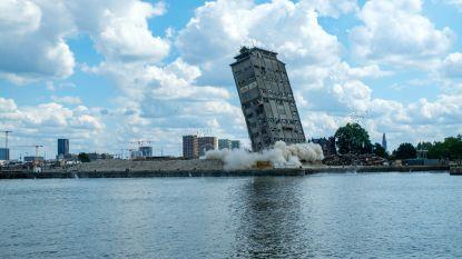 Toren in Antwerpse haven 'in alle stilte' opgeblazen