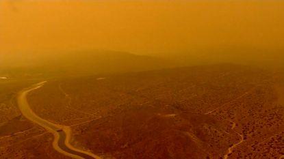 """Bosbranden in de VS: """"Het is hier precies Mars"""""""