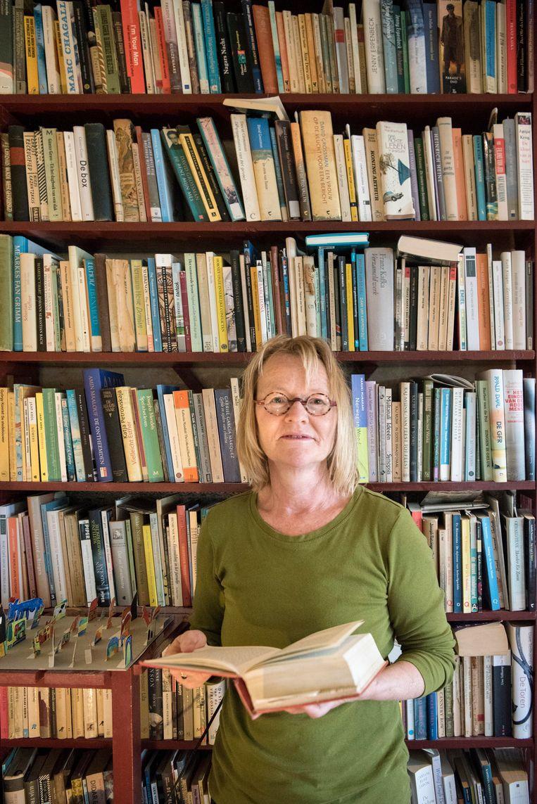 Jantsje Post (55) uit Wijnaldum, vertaler Beeld TRBEELD