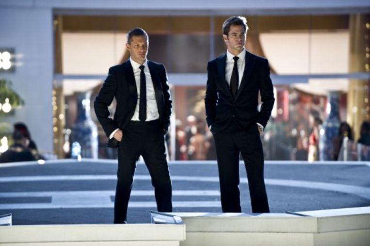 Chris Pine (FDR Foster) en Tom Hardy (Tuck)