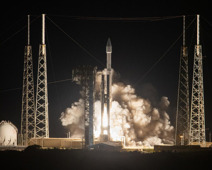 De lancering van de Solar Orbiter vond maandag plaats aan de kust van Florida.