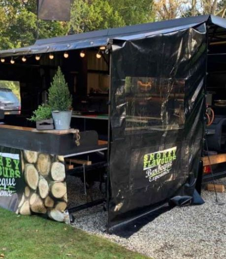 Foodtruck Smokey Flavours vult gemis in Bernissegebied op