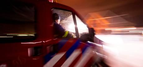 Acht woningen ontruimd door brand in Leiden