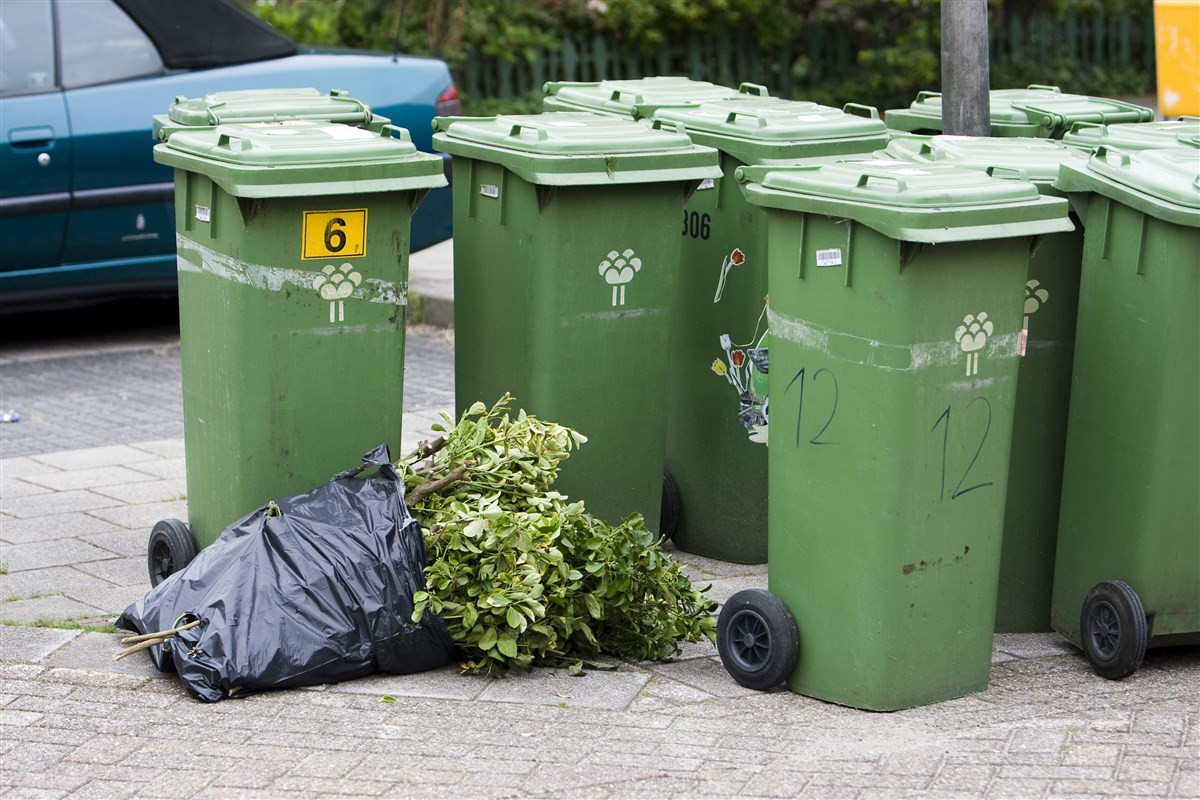 Afvalcontainers, foto ter illustratie.