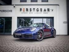 Porsche cabrio blijft in Almelose showroom, want de HartLoterij verkoopt te weinig loten