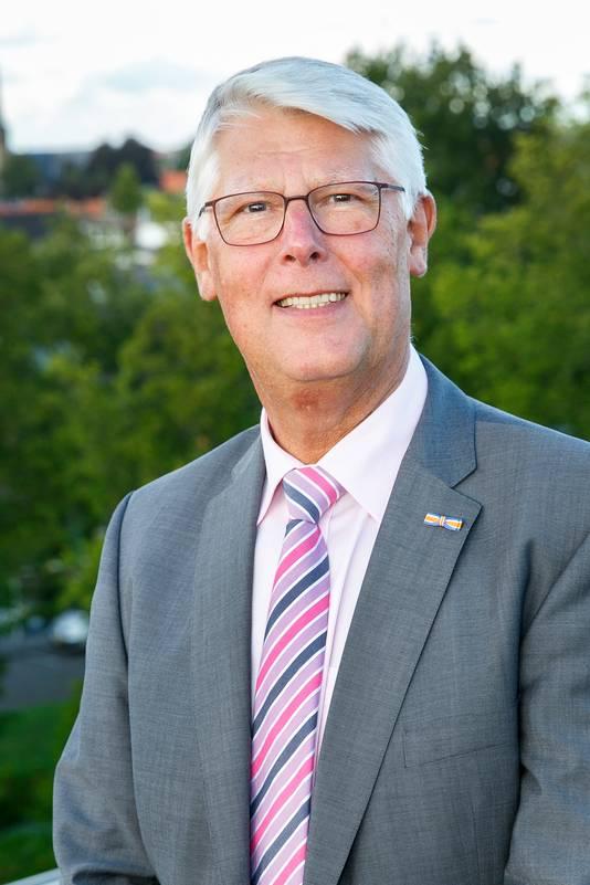 De Oud-Beijerlandse wethouder Piet van Leenen.