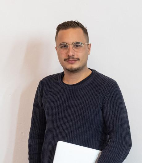 De spotlights zijn voor de artiest: Efe (24) uit Amersfoort doet de rest