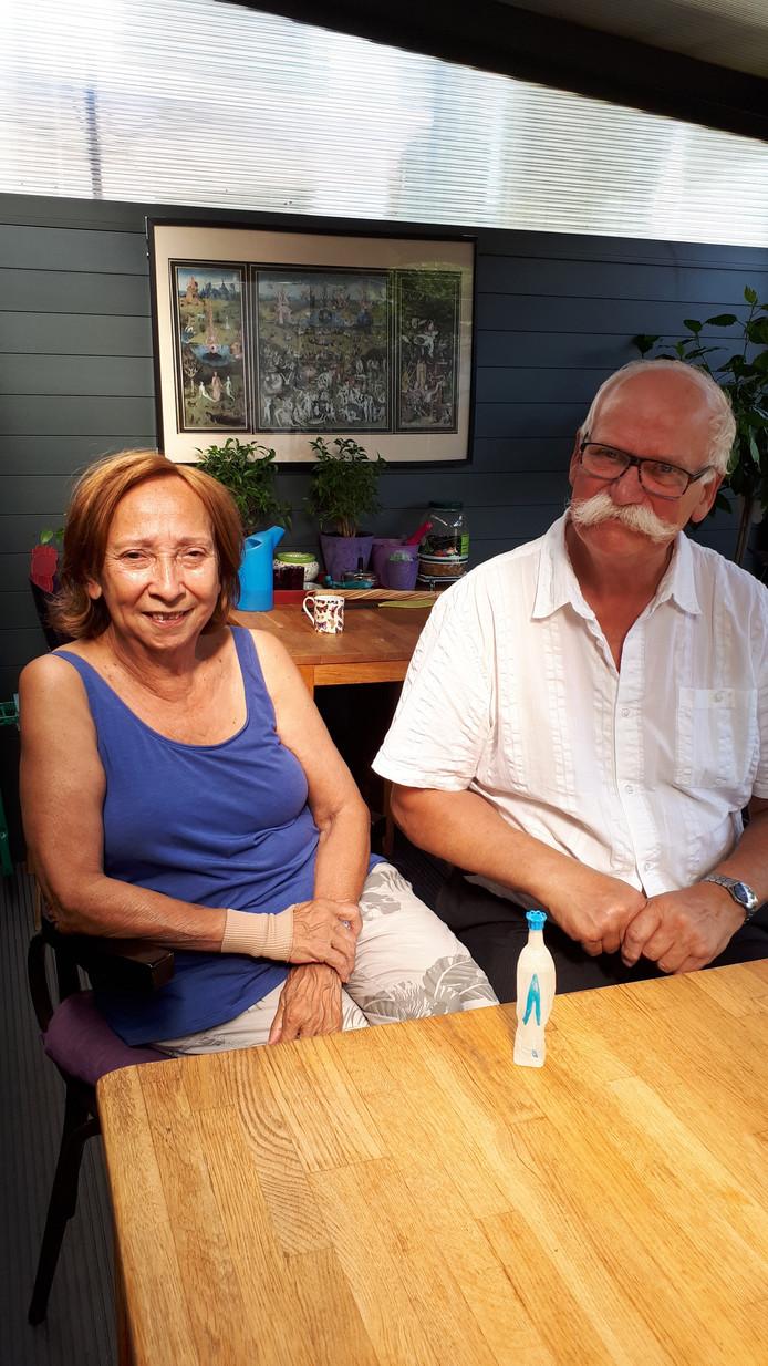 Yvonne en Frans.
