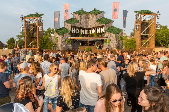 Het Hometown-festival in Maasland.