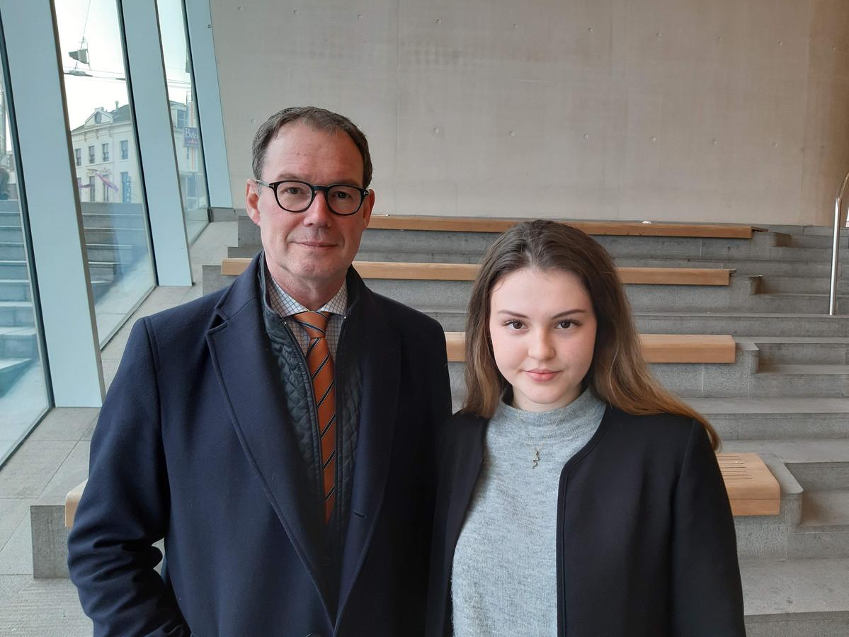 Ronald van Meygaarden en Eva van Raaij (Code Oranje).