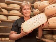 Zelfgemaakte Bolusijs, ze staan er bij kaasboerderij Ter Nisse voor in de rij