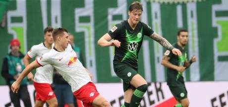 Weghorst redt punt voor Wolfsburg, Finnbogason frustreert Bayern