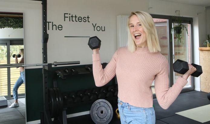 Gudrun Hespel in haar praktijk The Fittset You.