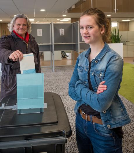 Trotse PvdA-lijsttrekker in Elburg: 'Ik heb inderdaad op mijn dochter gestemd'
