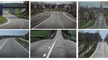 Het leek wel Autoloze Zondag: anders zo drukke wegen liggen er verlaten bij