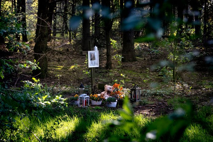 De gedenkplaats voor Nicole van den Hurk in Lierop.