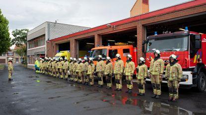 Brandweerzone Westhoek houdt minuut stilte voor gestorven collega's