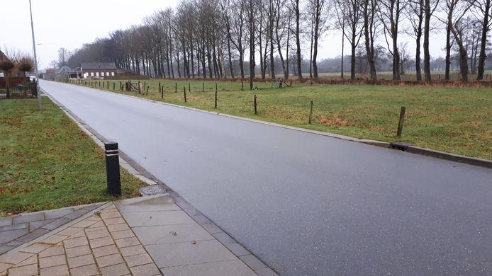 De Rustenburgsweg in Oldebroek