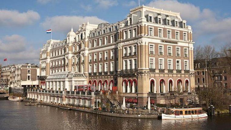 Halvemaan werkte ondermeer als chefkok van sterrenrestaurant La Rive in het Amstelhotel. Beeld Floris Lok