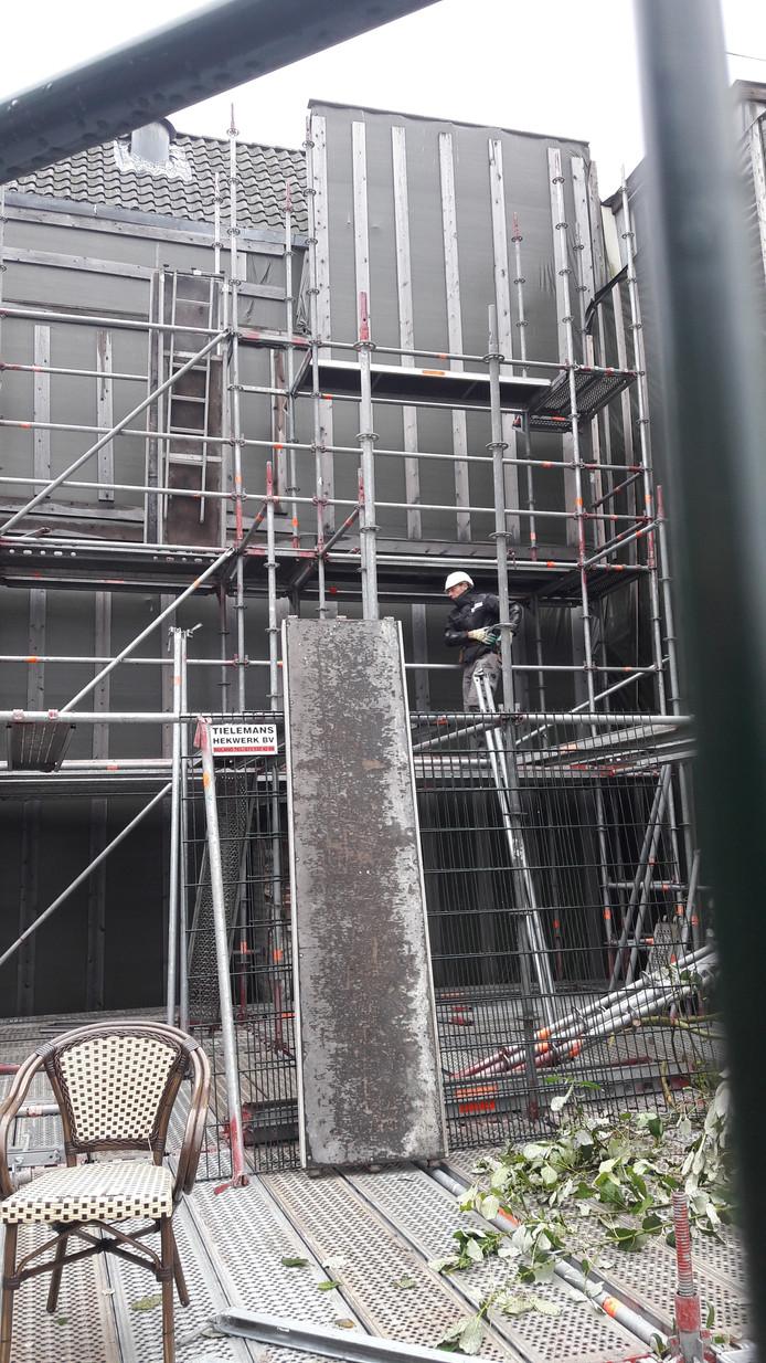 Het herstel van de Febo in Den Bosch is eindelijk van start gegaan