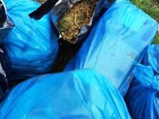 Zakken vol drugsafval gevonden in Anerveen