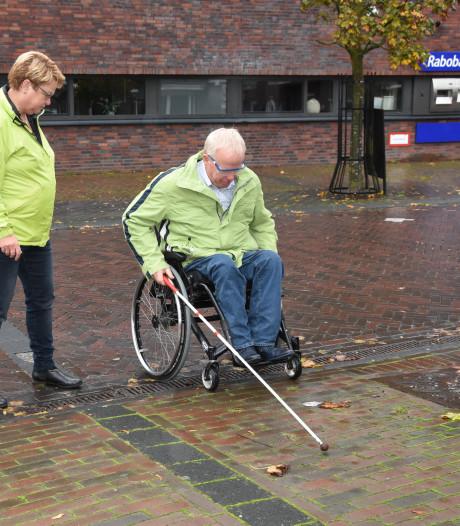 Oversteek vaak gevaarlijk voor blinden en slechtzienden, Olst-Wijhe voert actie