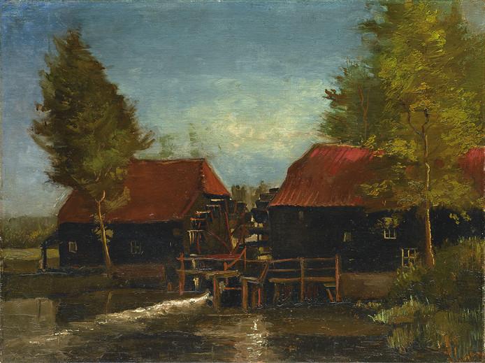 De Collse watermolen van Vincent van Gogh.