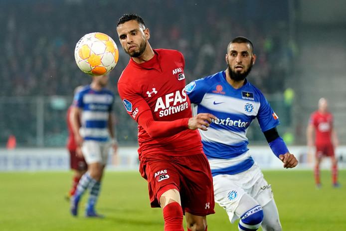 De 1-1 tegen AZ leverde De Graafschap plek 15 op. Door de winst van Emmen vandaag tegen Heerenveen zakt de ploeg uit Doetinchem weer een plek.