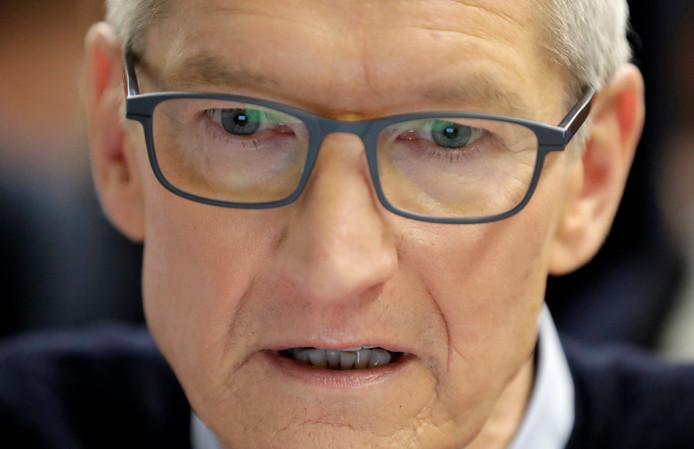 Tim Cook, de ceo van Apple.