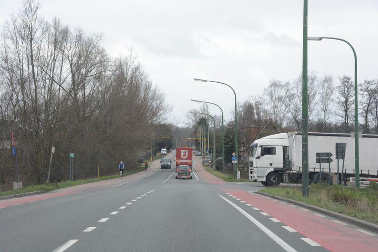 Vrachtwagens komen uit de industriezone aan Zwaluwbeek en Hogenakkerhoek en slagen er tijdens de spits moeilijk in om de N419 op te rijden. Daarom komen er tijdelijk verkeerslichten tijdens de duur van de Oosterweelwerken.