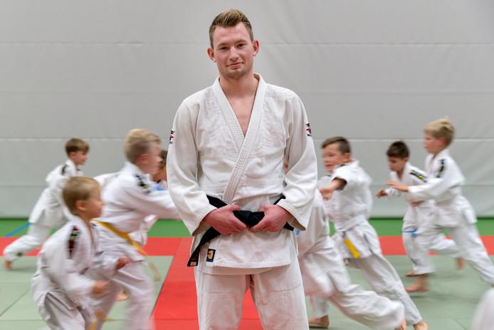 Judoka Joris van Lankveld.