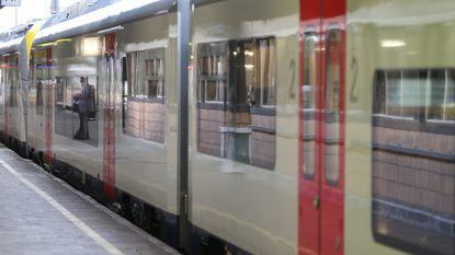 Zwartrijder deelt klappen uit aan treinbegeleider