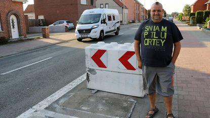 """""""Betonblokken zijn levensgevaarlijk"""""""