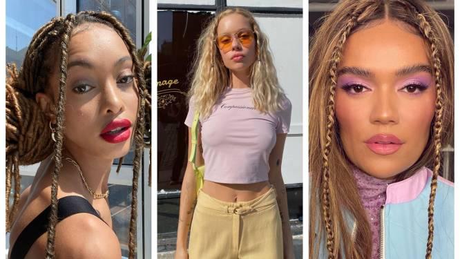 (vl)echt gemakkelijk: 'Braided tendrils' zijn terug uit de videoclips van de jaren '90
