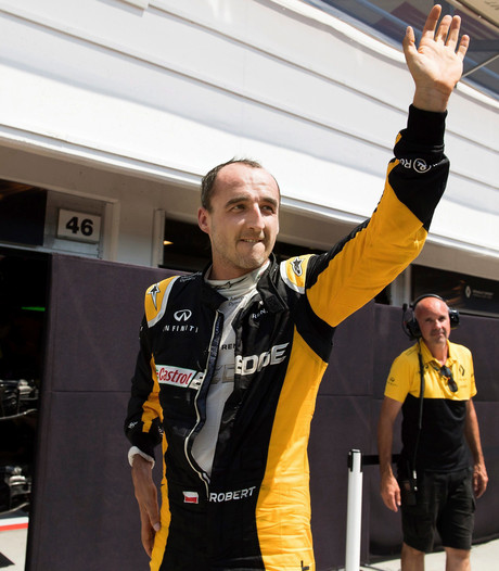 Kubica test voor Williams