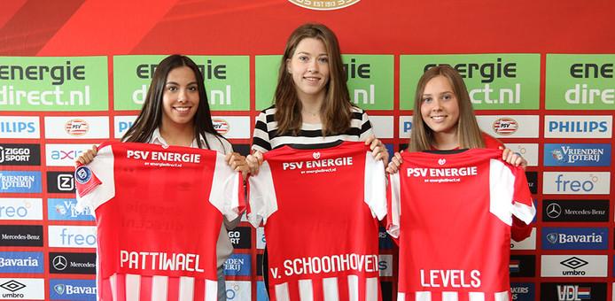 De drie versterkingen voor de vrouwentak van PSV.