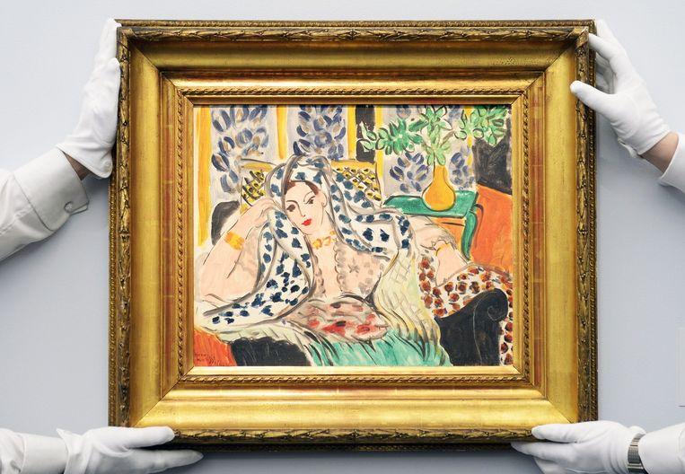 'Odalisque au fauteuil noir' (1942) van Henri Matisse Beeld epa