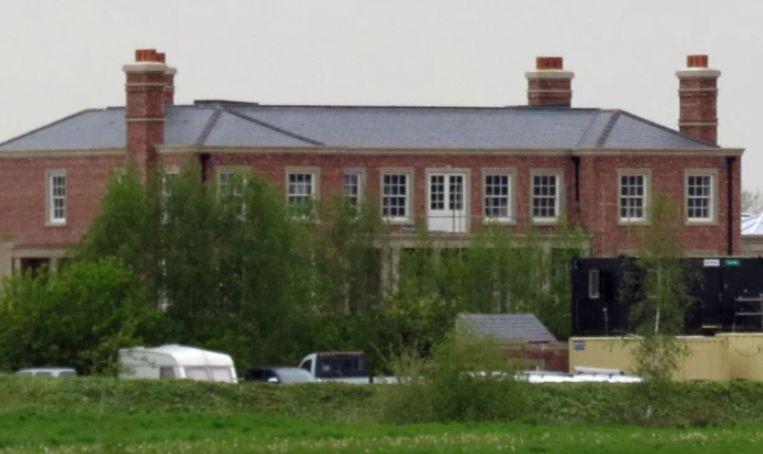 De nieuwe villa van Rooney.
