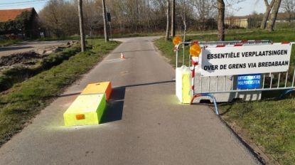 Wuustwezel houdt grensovergangen nog even gesloten