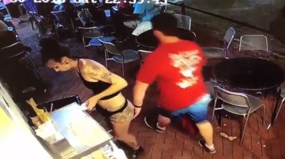 """""""Hij kreeg zijn verdiende loon"""": pervert grijpt naar billen van serveerster, haar stevige reactie liegt er niet om"""