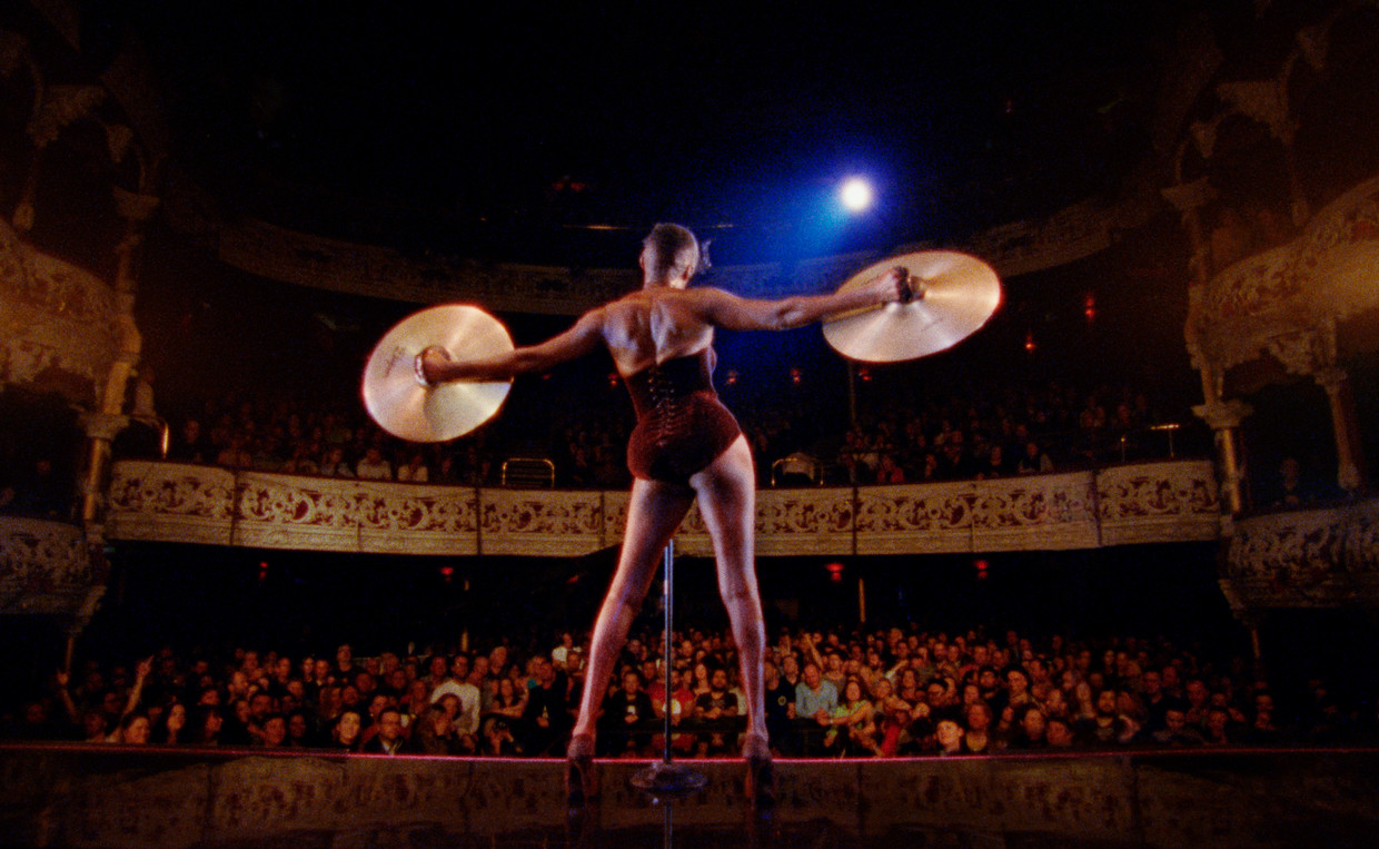 Grace Jones in Bloodlight and Bami.