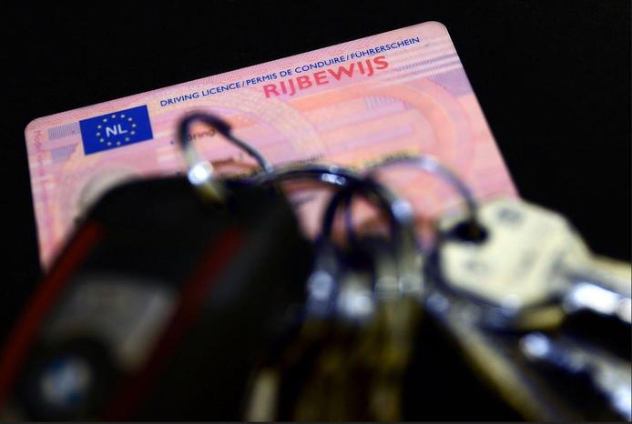 Stockfoto rijbewijs