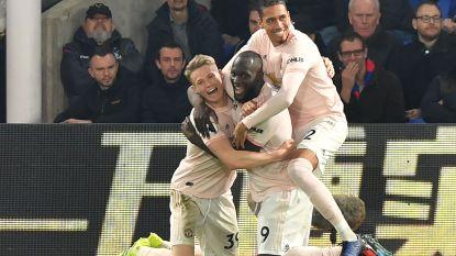 Lukaku knalt zich met twee goals tegen Crystal Palace in top 20 van topschutters aller tijden in de Premier League
