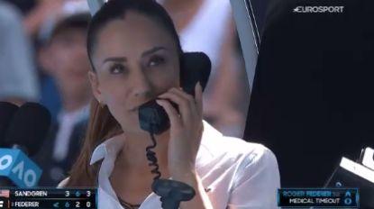 Zelfs 'Genie' Bouchard is onder de indruk: umpire die match van Federer leidde, gaat over de tongen