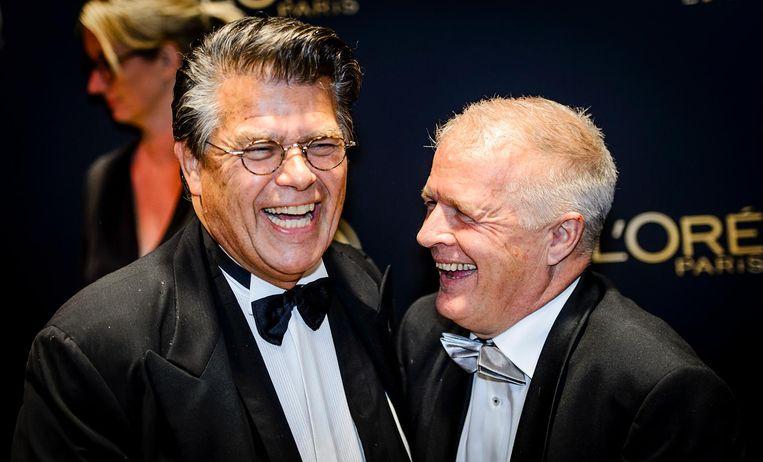 Emile Ratelband en Peter-Jan Rens. Beeld epa