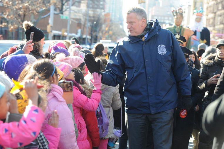Bill de Blasio, burgemeester van New York. Beeld photo_news