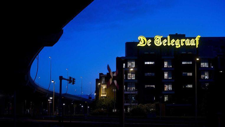 Het hoofdkantoor van de Telegraaf. Beeld anp