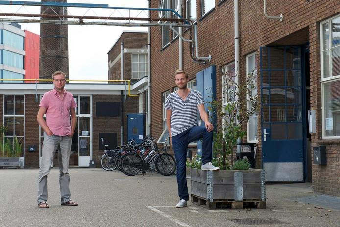 Arjan Hoeve en Matthijs de Raad van GGTV.