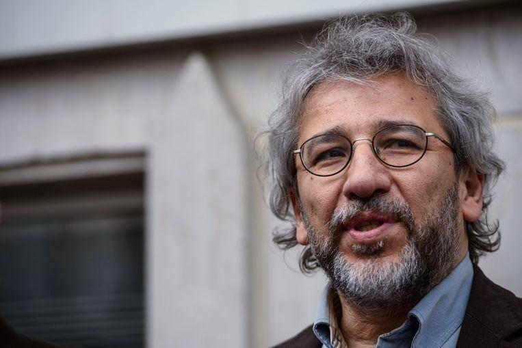 Can Dündar, de voormalige hoofdredacteur van de regeringskritische krant 'Cumhuriyet'